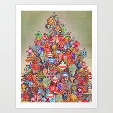 TREE ONE Art Print