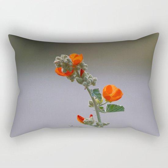 Desert Wildflower - 3 Rectangular Pillow
