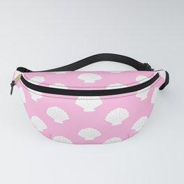 Seashells (White & Pink Pattern) Fanny Pack