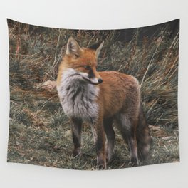 Feelin' Foxy Wall Tapestry
