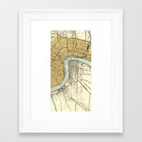 new orleans Framed Art Prints featuring New Orleans by Larsson Stevensem