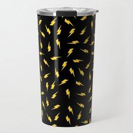 Yellow Bolt Travel Mug