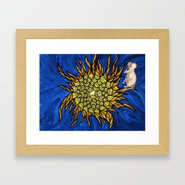 Mouse  Conversing with the Sun Framed Art Print