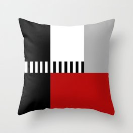 Geometric pattern 4 Throw Pillow