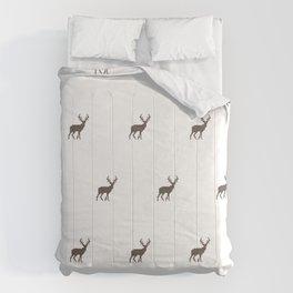 Deers in White Comforters