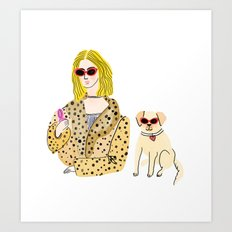 cool, calm and collected Art Print