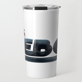 The Rebel Graphic Vector Art T-Shirt & Apparel Travel Mug
