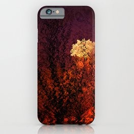 Concept abstract : Evening mood iPhone Case