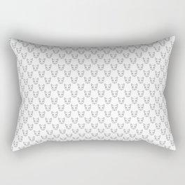 Cat Dotwork Rectangular Pillow