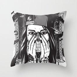 Pretty death ;) Throw Pillow
