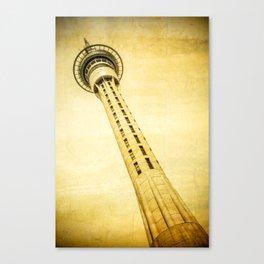 Sky Tower Auckland Canvas Print