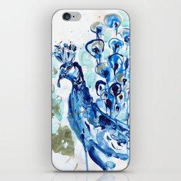 mr peacock iPhone Skin