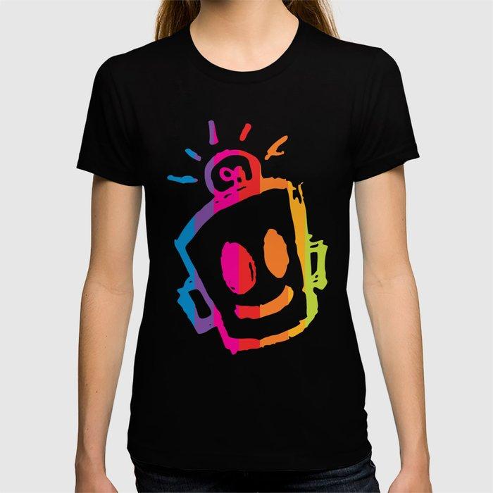 ROBOT stripes T-shirt