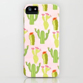 Cactus conference iPhone Case