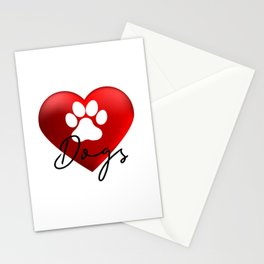 Love Dogs Stationery Cards