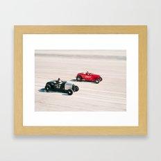 The Race of Gentlemen 7 Framed Art Print