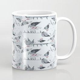 Pigeon Pod - Gray Coffee Mug