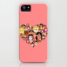 Love Princesses iPhone (5, 5s) Slim Case