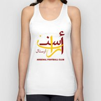 arsenal Tank Tops featuring Arsenal by Sport_Designs