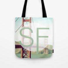 San Francisco Love Tote Bag