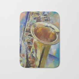 Saxophone Bath Mat