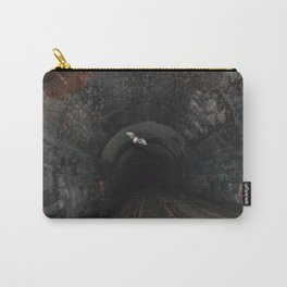 Bat In A Haunted Tunnel Carry-All Pouch