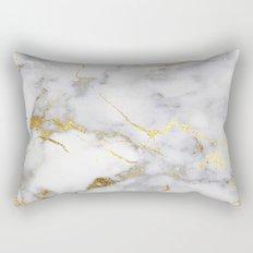 Italian gold marble Rectangular Pillow