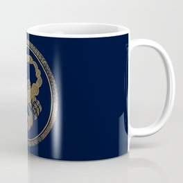 Golden Zodiac Series - Scorpio Coffee Mug