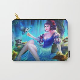Sleepless Nights-Snow White Carry-All Pouch
