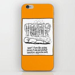 OOZING NOISES iPhone Skin