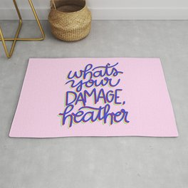 What's Your Damage? Rug