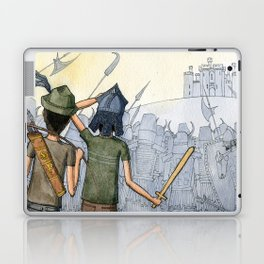 Castle Seige Laptop & iPad Skin