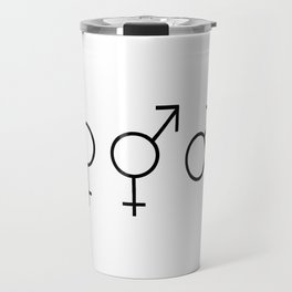 Symbol of Transgender 53 Travel Mug