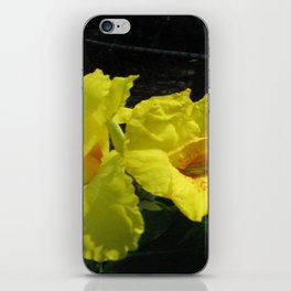 Yellow Lily iPhone Skin