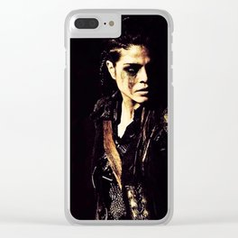 the 100 octavia B Clear iPhone Case
