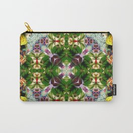 Kaleidoscpe Leaf Carry-All Pouch