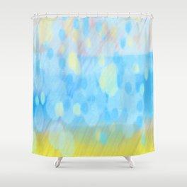 Barafundle Rain Shower Curtain