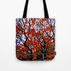 Raging Trees Tote Bag