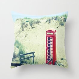 A Call From Paradise Throw Pillow