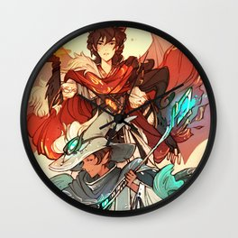 The Dragon and the Nokken Wall Clock