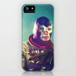 Luna Luchador iPhone Case