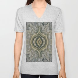 Lace Agate Unisex V-Neck