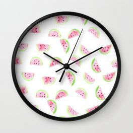 Watermelons 4 Dayz!! Wall Clock