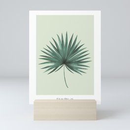 Fan Palm Leaf Mini Art Print