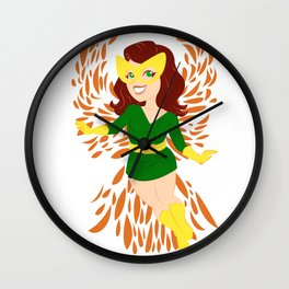 Coming Into Her Own Wall Clock