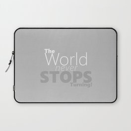 The world Laptop Sleeve