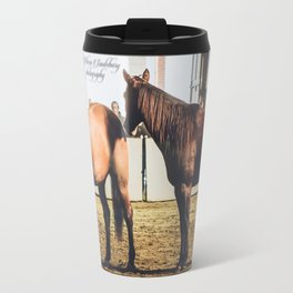 Guy McLean's Horses Travel Mug