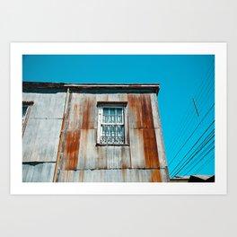 Rusty Art Print