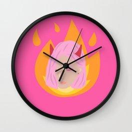 Little Devil Wall Clock