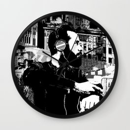 ROOFTOP RnR Wall Clock